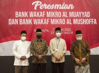 Gibran Harap Bank Wakaf Mikro Dukung Pemulihan Ekonomi