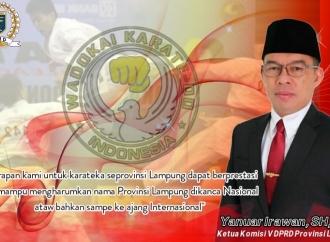 Yanuar Harap Karate-Do Provinsi Lampung Makin Berprestasi