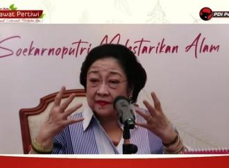 Mega Ajak Politisi Belajar Dari Kunang-kunang, Kodok & Kupu