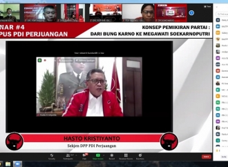 Sekjen Hasto: PDI Perjuangan Mengakar Kuat Pada Bung Karno