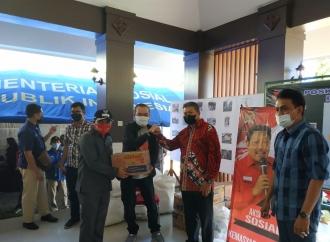 Gempa di Malang, Andreas Mulai Salurkan Bantuan