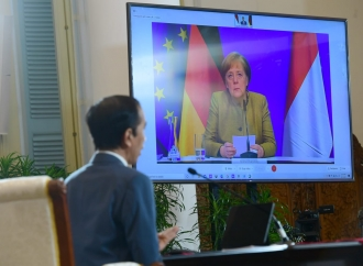 Presiden Jokowi Gelar Pertemuan dengan Kanselir Jerman