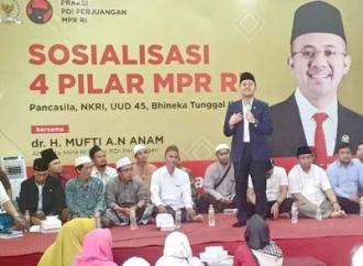 Mufti Ajak Masyarakat Perkuat Gotong Royong