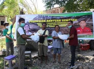 Ansy & KLHK Salurkan Bantuan Untuk Korban Bencana NTT