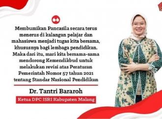 Tantri Bararoh Dukung Revisi PP Standar Nasional Pendidikan