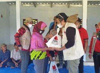 Lagi, Banteng Kab Malang Turunkan Baguna Bantu Korban Gempa