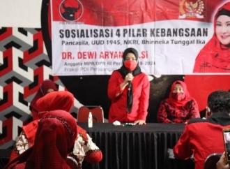 Dewi Aryani Tegaskan Kader Banteng Harus Pancasilais