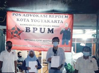 Repdem Yogyakarta Bantu 200 UMKM Mengakses BPUM