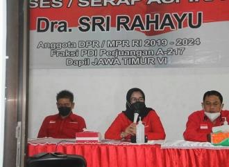 Sri Ingatkan Banteng Blitar Bidik Kemenangan di Pemilu 2024