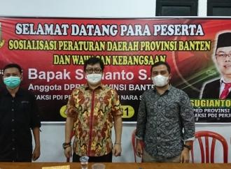 Banteng Banten Sosialisasikan Perda & Wawasan Kebangsaan