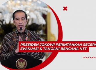 Presiden Perintahkan Evakuasi & Tangani Bencana NTT