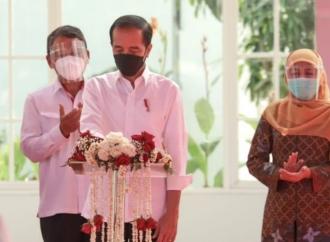 Presiden Jokowi Resmikan Fasilitas PSEL di TPA Benowo
