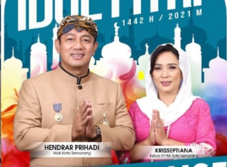 Halal Bihalal Virtual Saja, Hendrar: Open House Pun Virtual