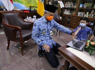 Gubernur Ganjar Sangat Bangga Dengan Faith Abe Tanaya