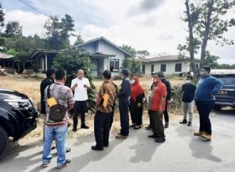 Bupati Humbahas & PUPR Tinjau Lokasi Gerbang Tanduk