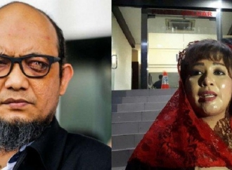 Novel Baswedan Dinonaktifkan, Dewi: Tumpas Kadrun Dari KPK!
