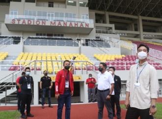 Piala AFC 2021, Gibran Tegaskan Stadion Manahan Siap