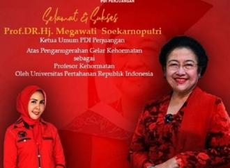 Gelar Profesor Megawati Bukti Perempuan Bisa Raih Mimpi