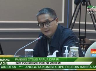 Otsus Papua, Putra Desak Pemerintah Percepat Pembahasan