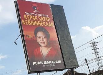 Puan Maharani Capres 2024, Ratusan Spanduk & Poster Beredar