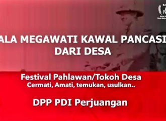 Festival Pahlawan Desa, Rebut Piala Megawati Kawal Pancasila