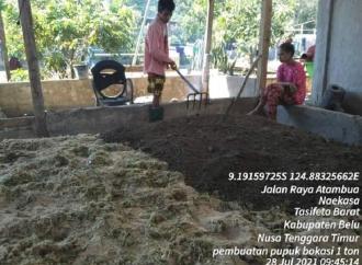 Ansy-Kementan Sinergi, Petani Sogolis Sukses Produksi Pupuk