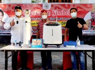 Puan Bantu Oxygen Concentrator & Tabung Oksigen ke Kalteng