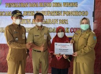 Bunda Rita Monitoring Penyaluran BLT-Dana Desa
