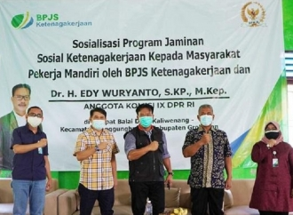 Pekerja Informal Didorong Gunakan BPJS Ketenagakerjaan