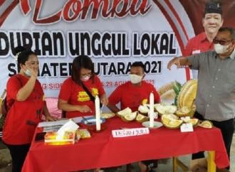 BPEK PDI Perjuangan Sumut Gelar Lomba Durian Lokal Unggul