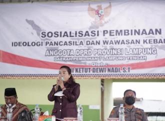 Dewi Nadi Sosialisasi Ideologi Pancasila-Wawasan Kebangsaan