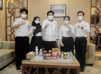 Terima Delegasi Parlemen Remaja, Ini Pesan Khusus Bang Dhin