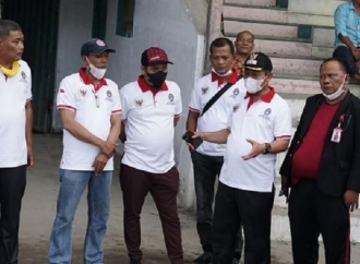 Waris Thalib Cek Stadion Asahan Sakti yang Tak Terawat