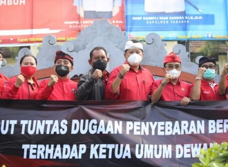 Hoax Megawati Sakit, Banteng Tabanan Laporkan Akun Penyebar