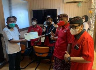 Banteng Bali Datangi Polda Laporkan Berita bohong