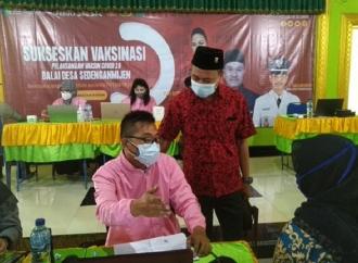 Mbak Puti Kembali Suntik 600 Vaksin di Desa Sedengan Mijen