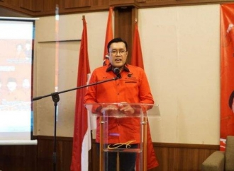Ono Pimpin Rapat Koordinasi & Konsolidasi Banteng Sukabumi