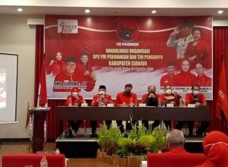 Bidik 15 Kursi DPRD, Banteng Cianjur Gelar Konsolidasi