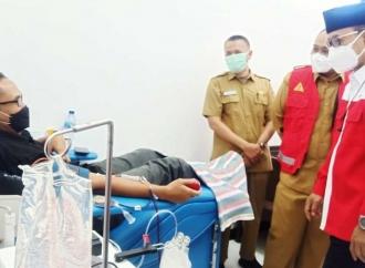 Bupati Ony Minta Penyintas COVID Gotong Royong Donor Plasma