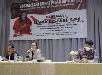 Maria Tegaskan Milenial Yang Bertani Adalah Pahlawan!