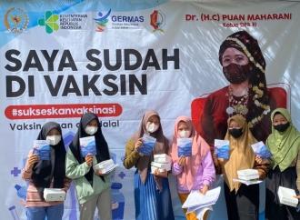 Abidin Fikri Gelar Vaksinasi Massal di SMK Ngasem
