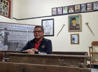 Sekjen Hasto Kunjungi SD Bung Karno, Tumbuhnya Kebangsaan