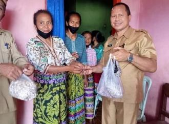 Didukung Ansy, KWT Amnautob Sukses Panen Bawang Putih