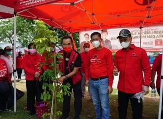 Rudianto Dukung Penghijauan Banteng Jakarta Utara