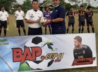 Tournamen BAP CUP, Mas Boby: Junjung Tinggi Sportifitas !