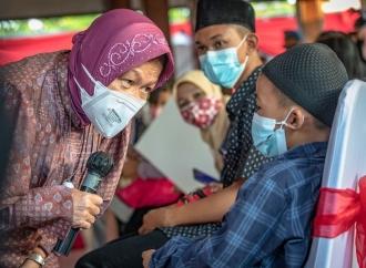 Diah Pitaloka Puji Kerja Cepat Risma Untuk Anak Yatim Piatu