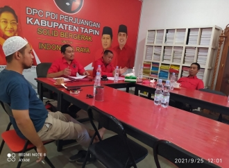 Panaskan Mesin Partai, DPC-PAC Banteng Tapin Konsolidasi