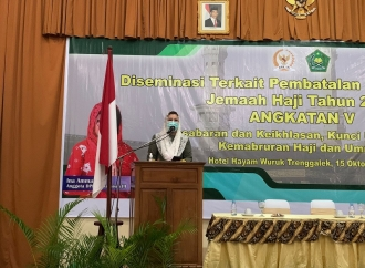 Ibadah Haji Ditunda, Ina Ammania: Kesepakatan Pihak Terkait