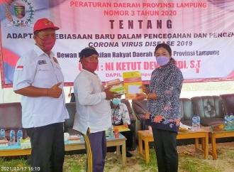 Dewi Nadi Sosialisasi Perda New Normal & COVID-19