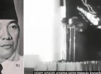Pidato Bung Karno Pada Peringatan Maulid Nabi Muhammad SAW